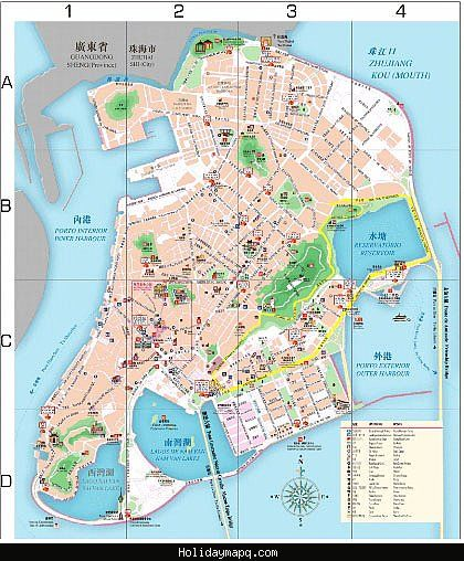 awesome Macau Subway Map Holidaymapq Pinterest Macau Subway