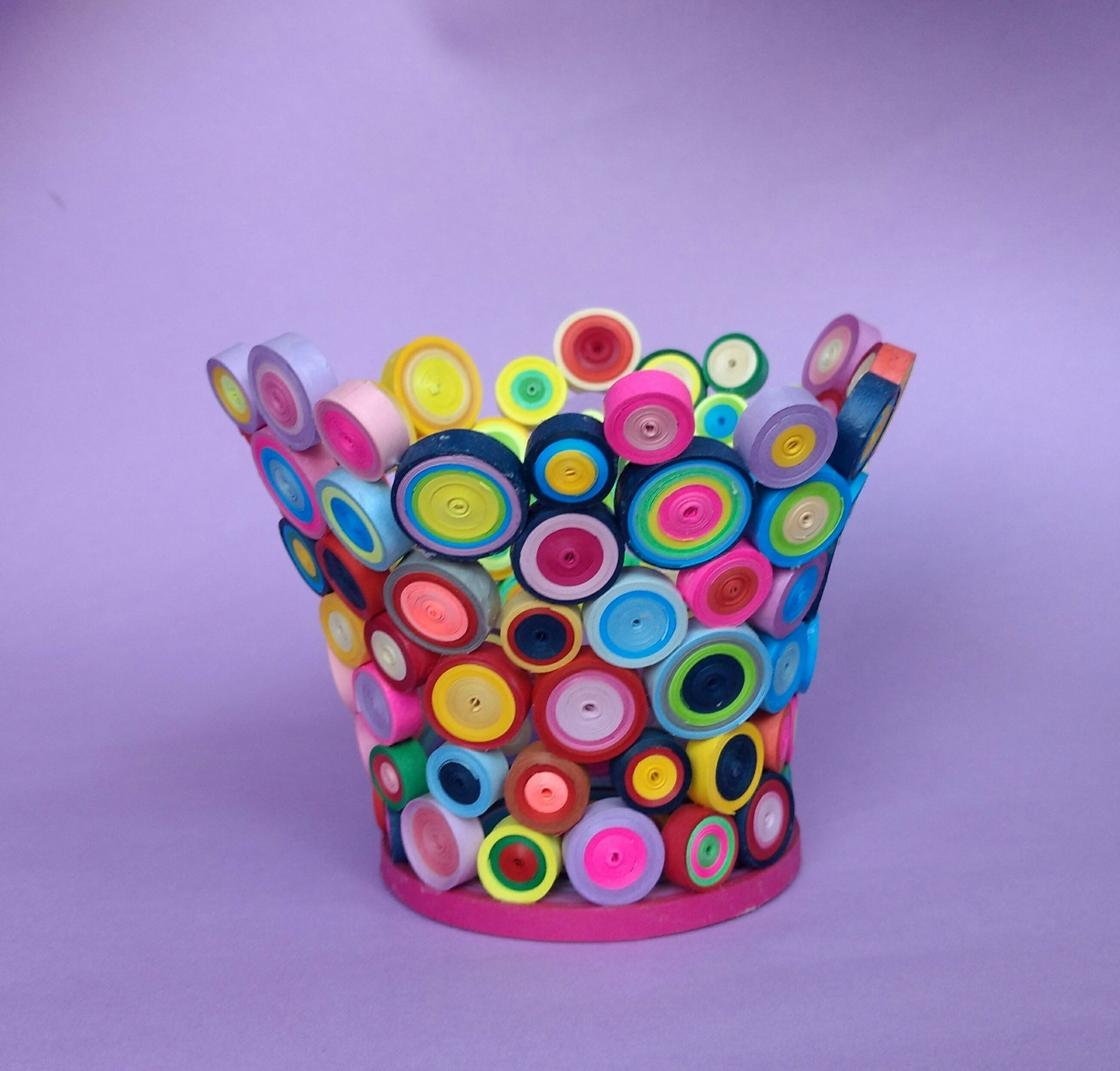 Make Your Own Pen Holder Paper Quilling Designs Handmade Pens