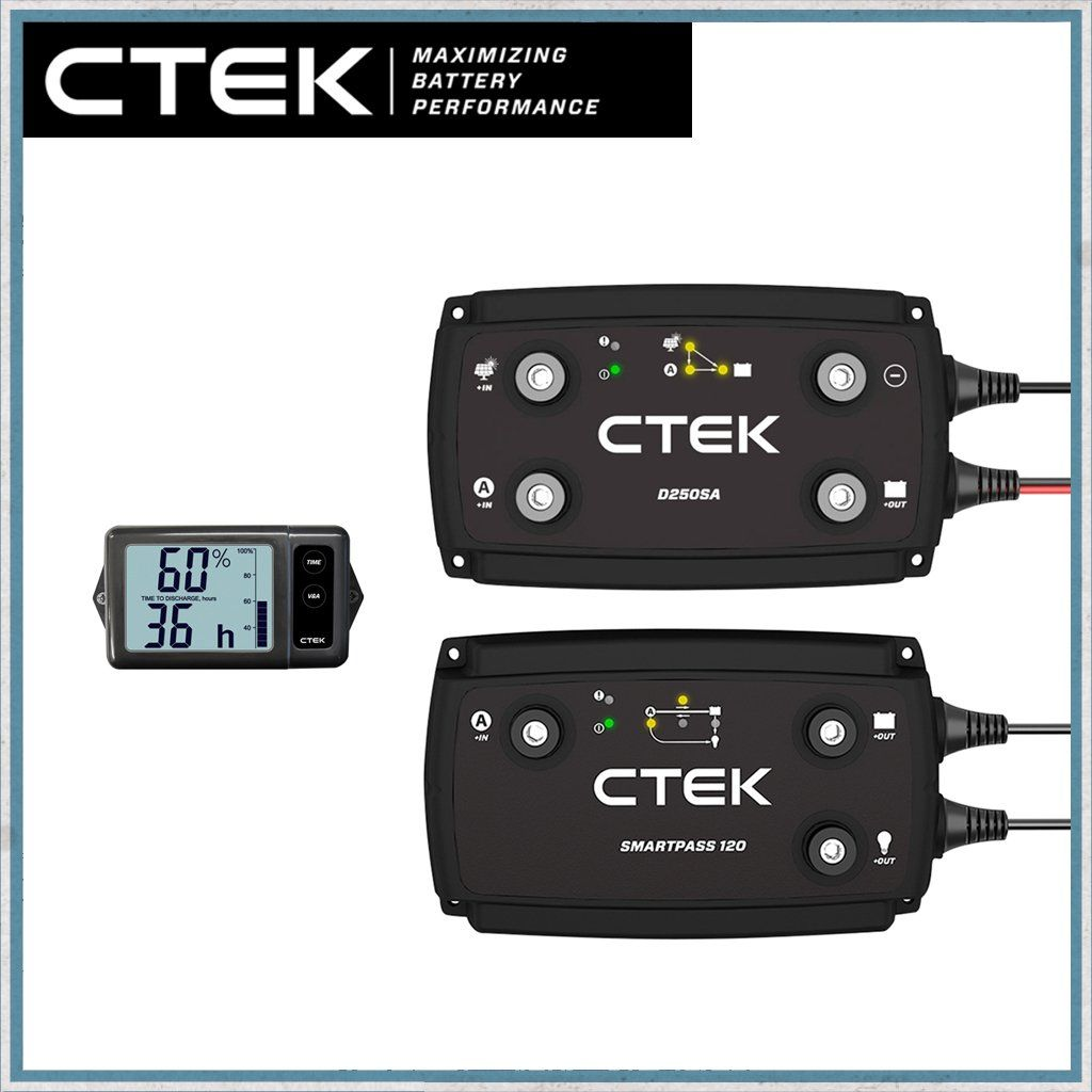 """CTEK """"OFF GRID"""" Battery to Battery Charging System 140A"""