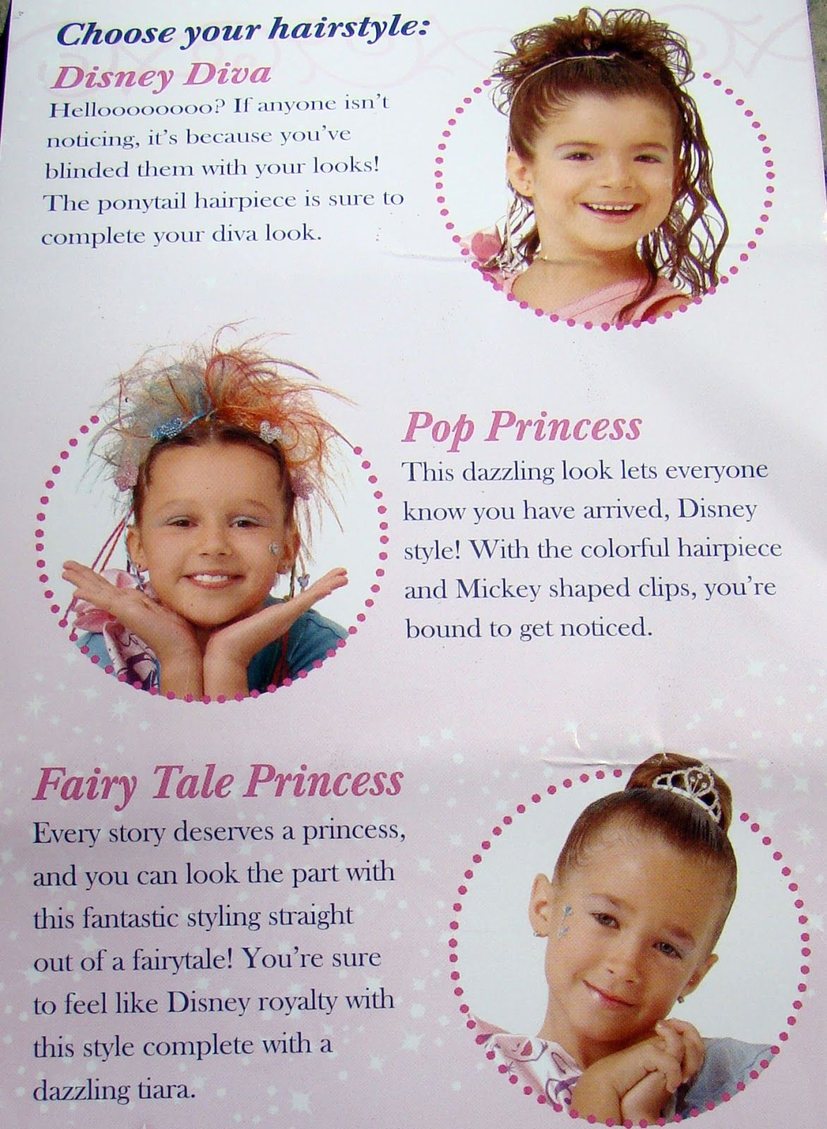 Bibbidi Bobbidi Boutique Hairstyle Options Disney Parks Tips