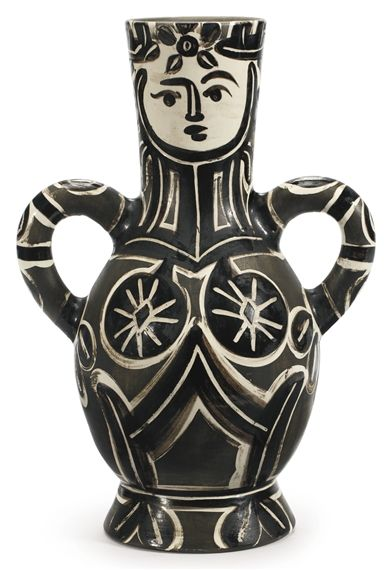 Pablo Picasso Vase Deux Anses Hautes A R 213 Creation Date