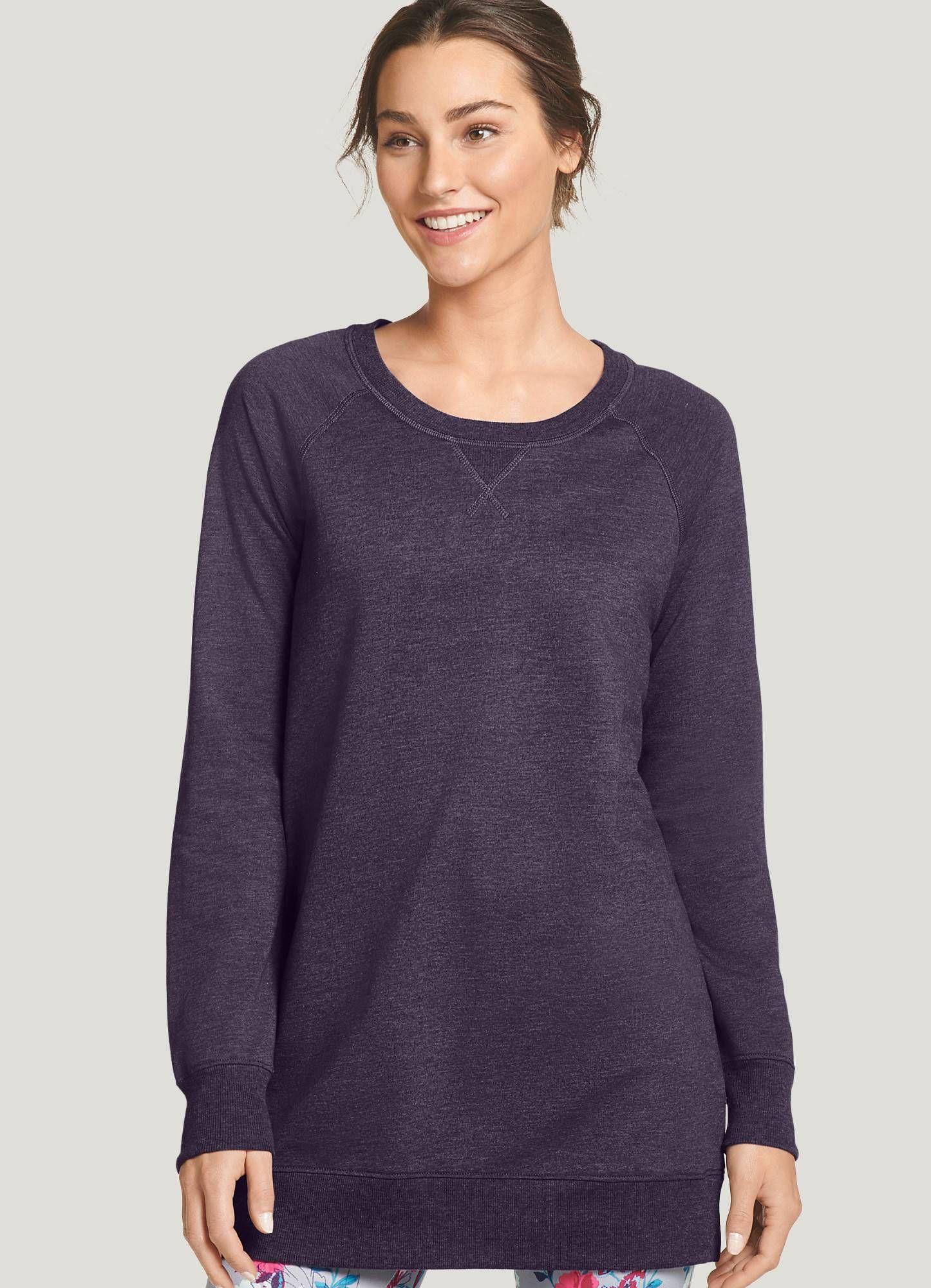 Jockey Sweatshirt Tunic Venetian Purple Heather S Sweatshirts Women Tunic Sweatshirt Sweatshirts [ 2000 x 1446 Pixel ]