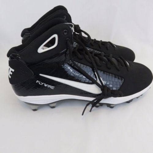 7733607f061 New Nike Flywire Football Cleats 13.5 Black White Men s Shoes in ...