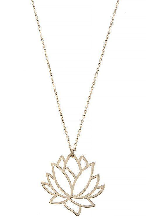 A dainty 14k gold lotus pendant necklace httpfancytemplestore a dainty 14k gold lotus pendant necklace httpfancytemplestore audiocablefo