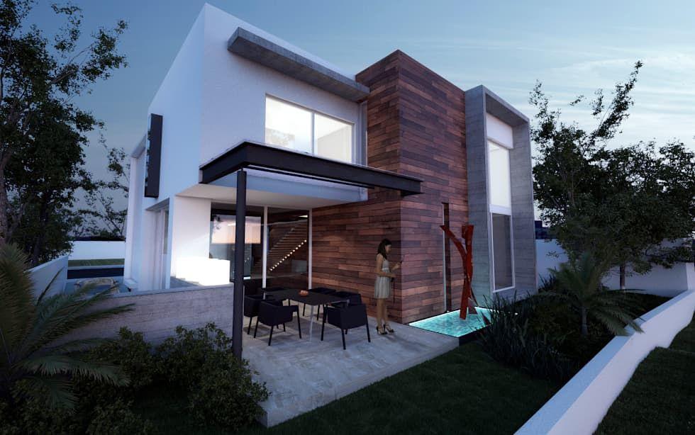 CASA MADEIRA Casas de estilo minimalista por ALONSO ARQUITECTOS - casas minimalistas