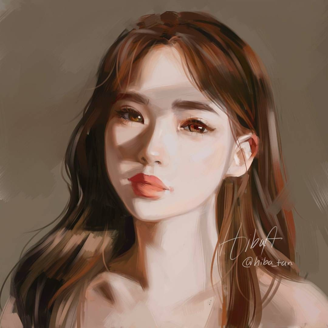 26 4k Likes 142 Comments هبة Hiba Tan On Instagram Lighting Study Using Ref From Haneulina Ur Comme Tan Instagram Digital Portrait Art Instagram Art