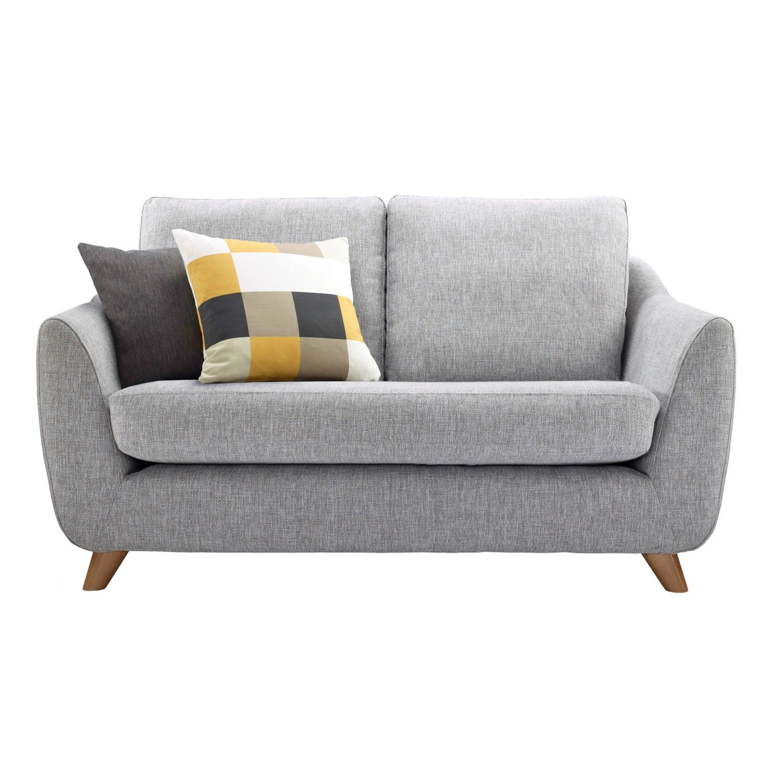 Attrayant Loveseats For Small Spaces | Cheap Small Sofa Decoration : Fascinating Grey  Legged Cheap Small Sofa