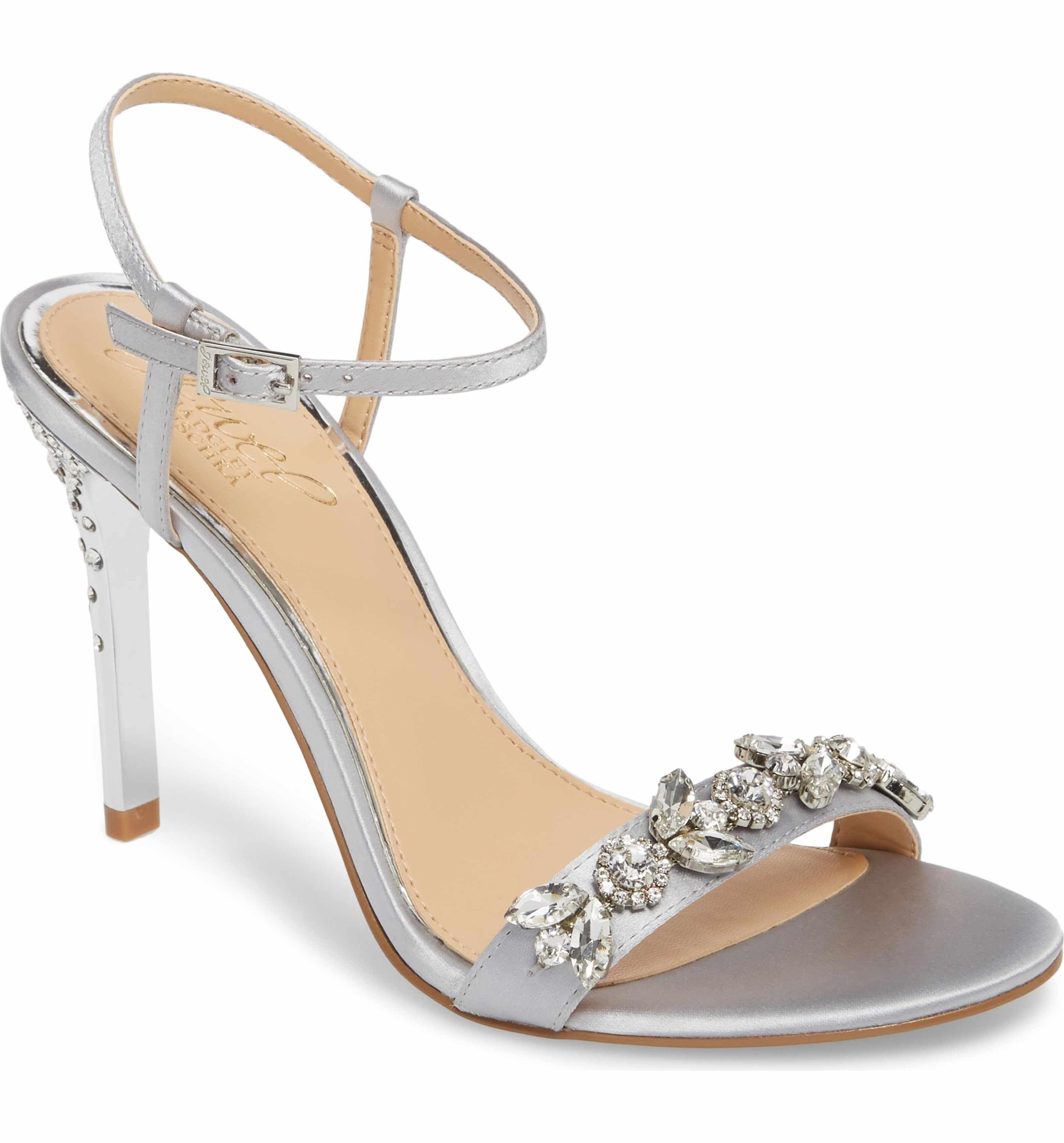 194a4a681db7 Main Image - Jewel Badgley Mischka Tex Ankle Strap Sandal (Women ...