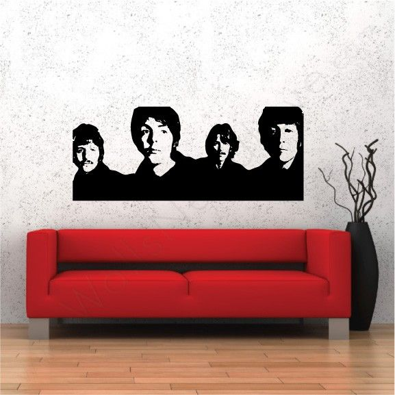 Beatles wall decals?? Oh yes we did! (With images