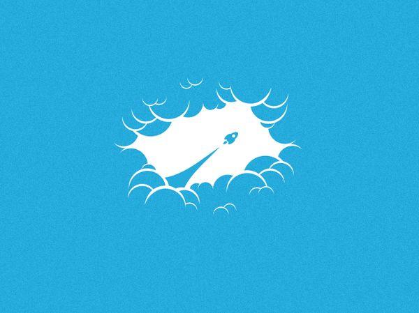 Fluffy Blue #illustration #inspiration #design