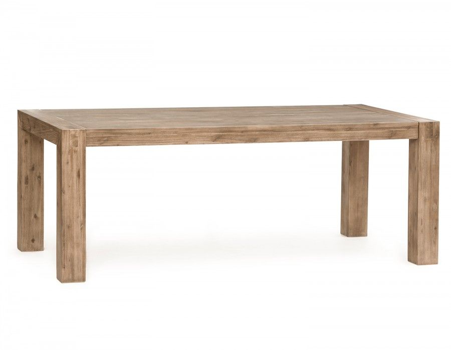 HAMBURG Acacia wood dining table 79