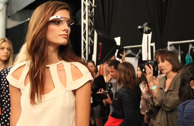 Google Glass Graces the Runway at New York Fashion Week | AVORAH - Geek Lifestyle Reviews And Views - TECH, GADGETS, STYLE.
