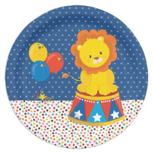 Circus * choose background color paper plate  sc 1 st  Pinterest & Circus * choose background color paper plate | Party Paper Plates ...