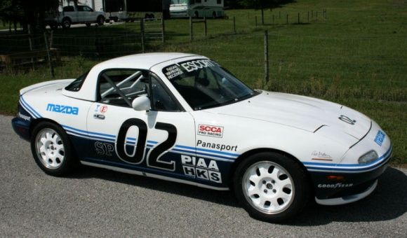 Mazda Commissioned Rod Millen To Build Two First Year Miatas Compete In The Scca S World Challenge Series This Is One Of Those
