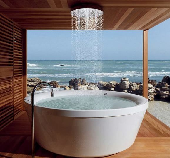 Outdoor Spa/Bath | Favorite Places & Spaces | Pinterest | Outdoor ...
