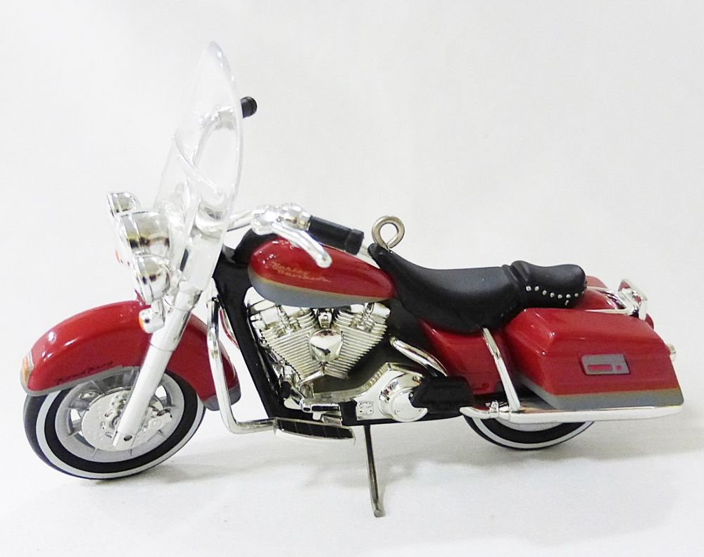 small resolution of hallmark keepsake ornament 1994 flhr road king harley davidson motorcycle