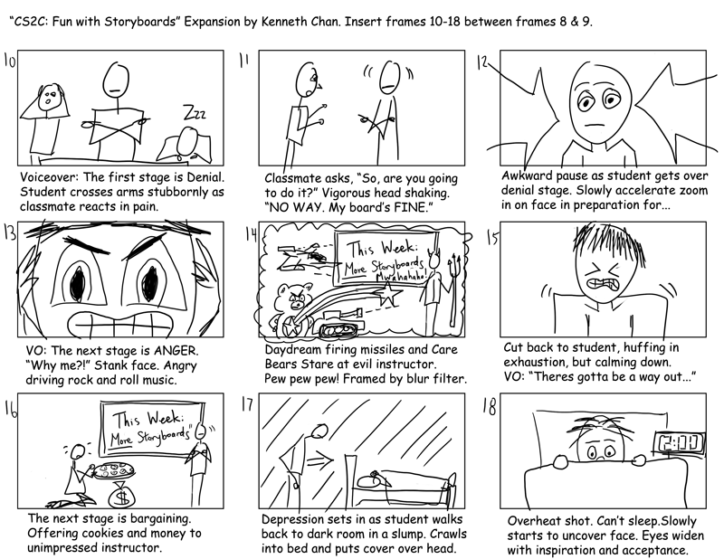 Storyboard Resource and Examples from OSU Shows some examples of – Storyboard Sample