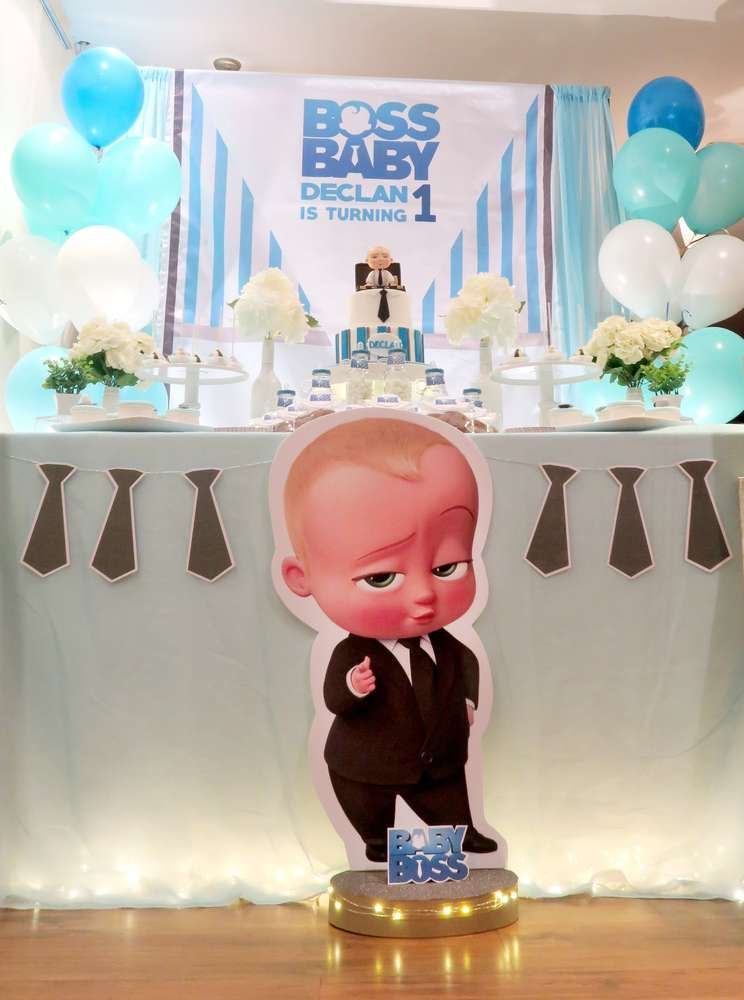 Baby Boss Theme Birthday Party Ideas | Legend 1st birthday ...