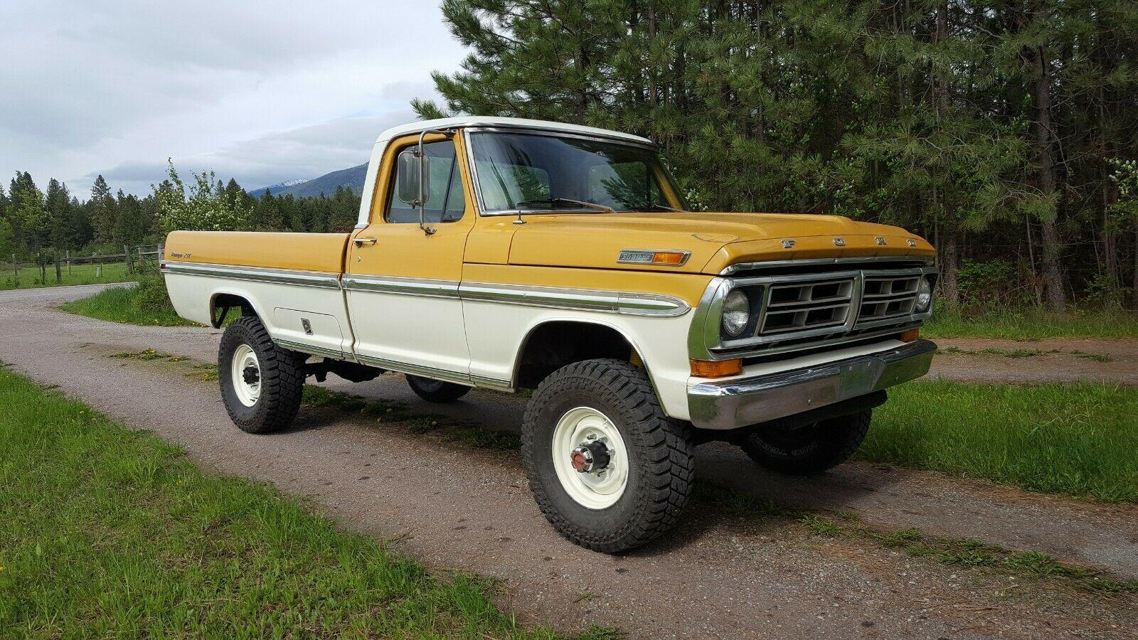 1972 Ford F 250 Xlt Ebay F250 Ford F100 Truck