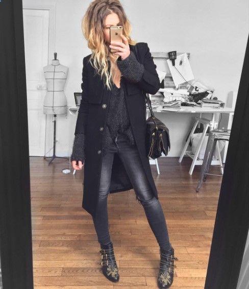 #Meleponym in #ANINEBING #Jeans | ANINE BING ❥