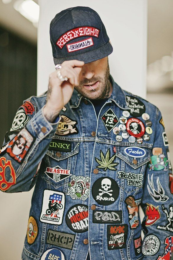 Jacket  | Pins of Pins | Denim jacket men, Denim jacket