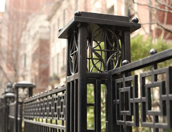 Iron Fences Of Chicago By Dianebronstein On Etsy Iron Fence