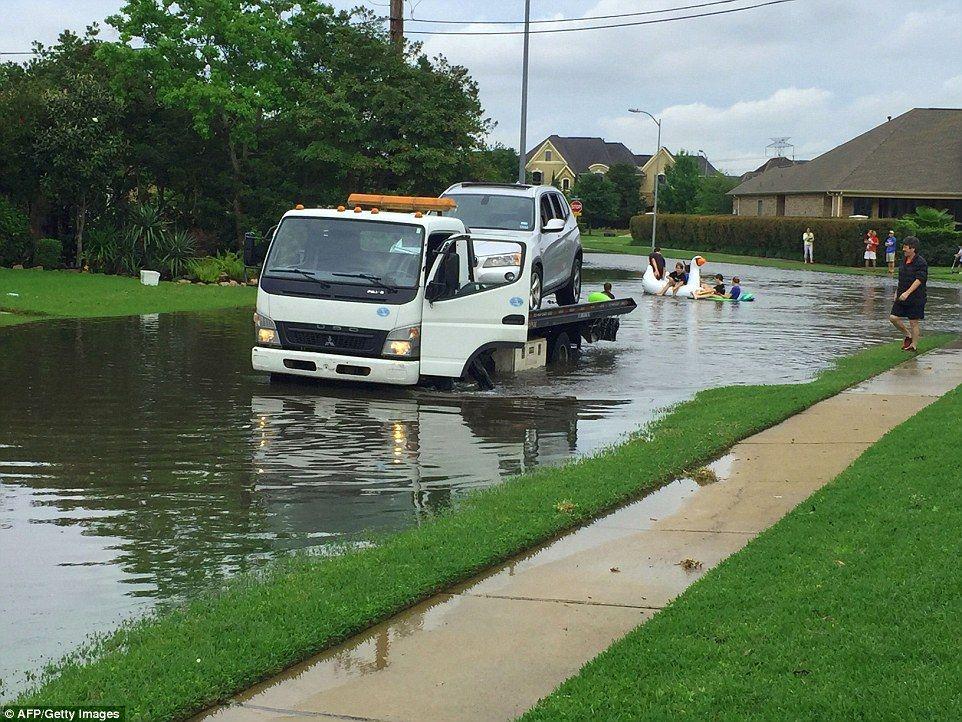 Five dead in Houstonu0027s historic floods Five
