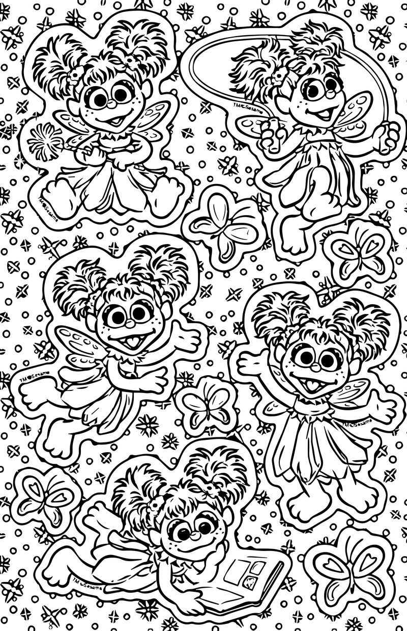 Wallpaper Abby Cadabby Coloring Page Coloring Pages Coloring Pages For Kids Printable Coloring Pages