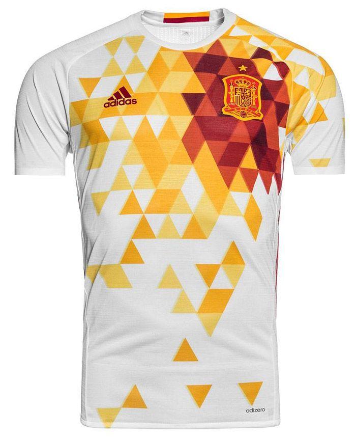 Camiseta España Eurocopa 2016 2ª equipacion  7c51891f65039