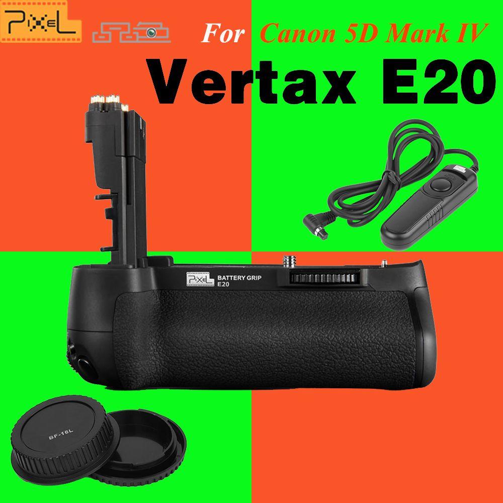 PIXEL E20 Professional Battery Grip for Canon 5D Mark IV 5D4 5D