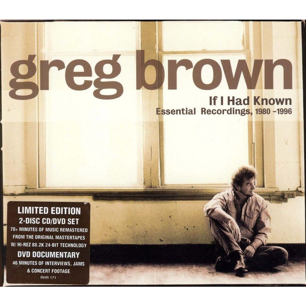 Greg Brown - If I Had Known (CD)