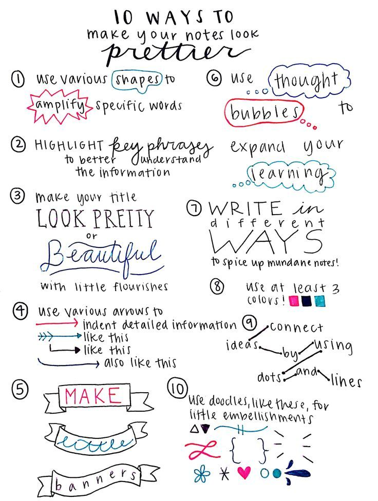 """colourfulstudy """" studywithpaigey """" 10 Ways to Make Your"""