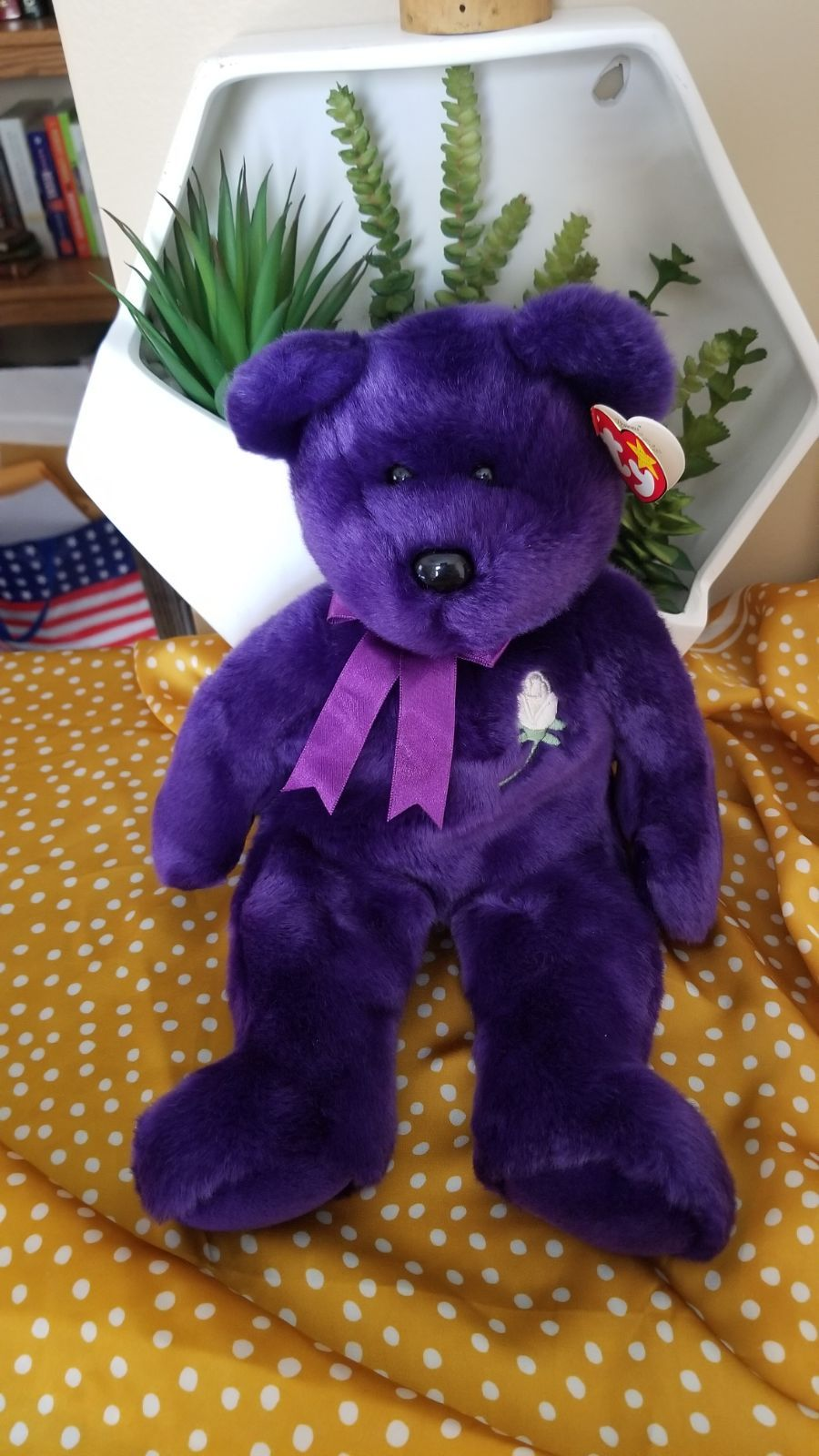 Jumbo Princess Diana Ty Beanie Baby Has Swing Tag Excellent