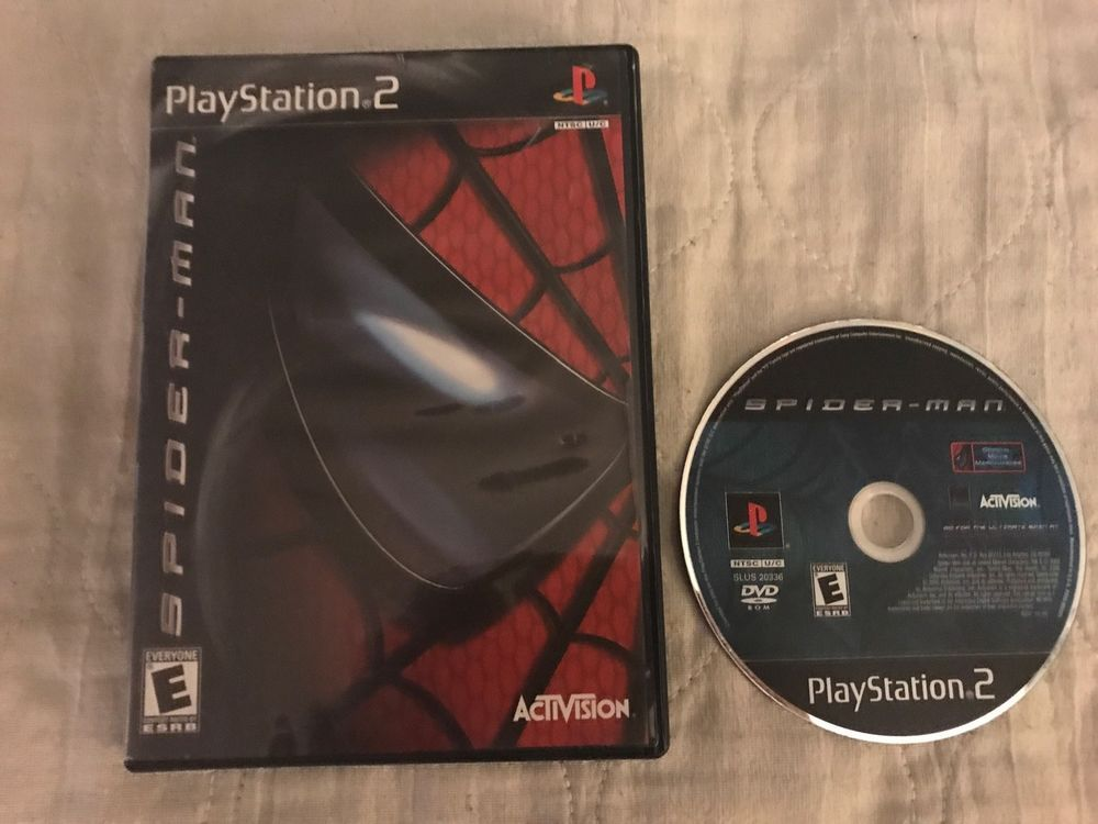 sony playstation 2 cd. spider-man ps2 (sony playstation 2 ) sony playstation cd p