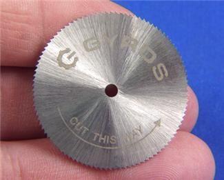 Miniature Saw Blade 1 1 2 Inch Dia X 100 Teeth Saw Blade Blade Miniatures
