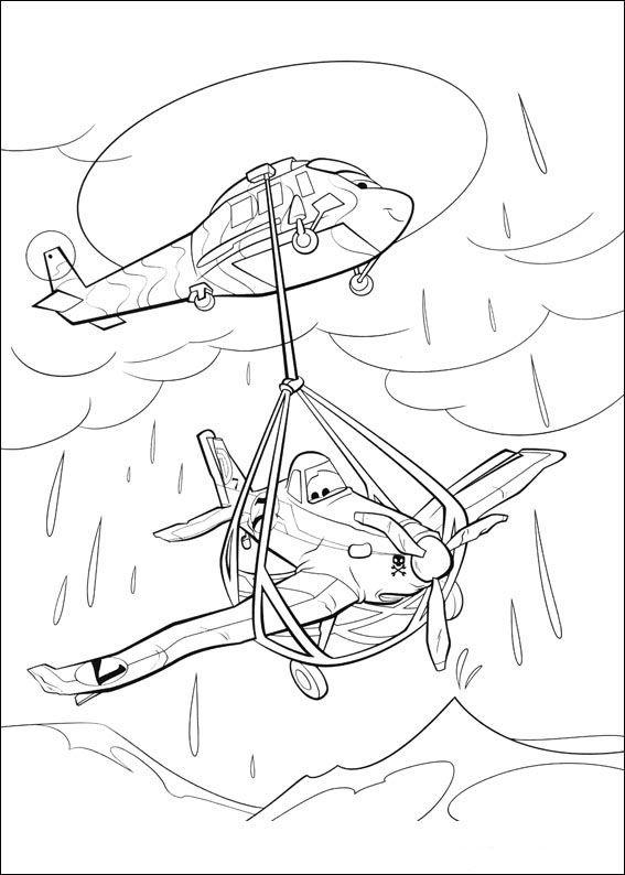 Planes Ausmalbilder. Malvorlagen Zeichnung druckbare nº 19 | basteln ...