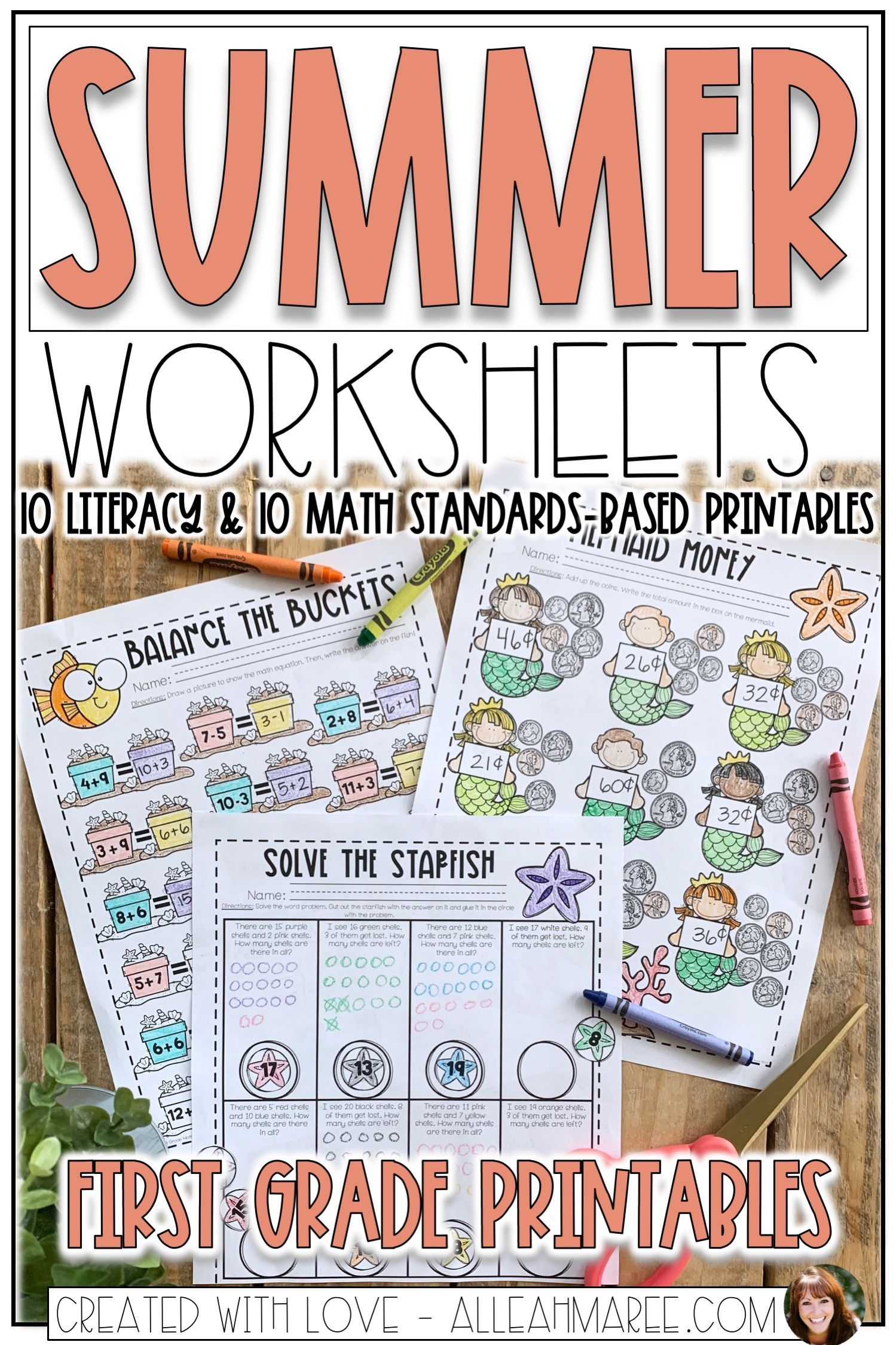 Keep Your Kids Learning With These Fun Summer Worksheets