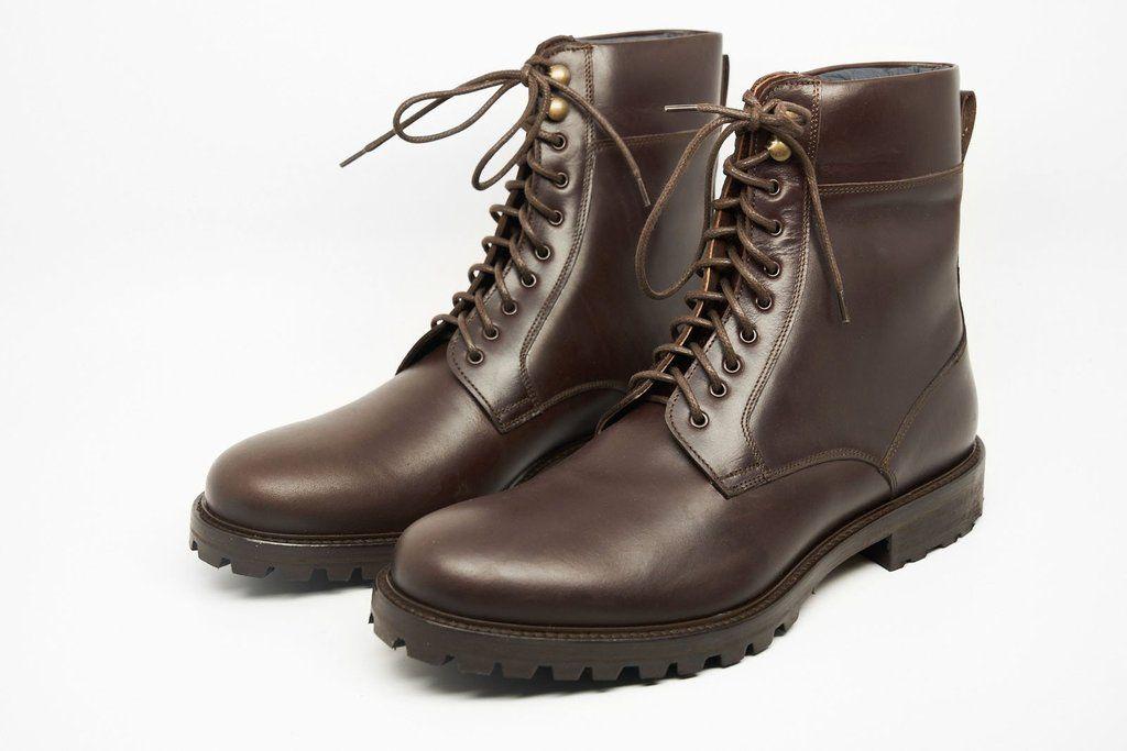 Combat Boot In Dark Brown Brown Combat Boots Combat Boots Dark Brown Boots
