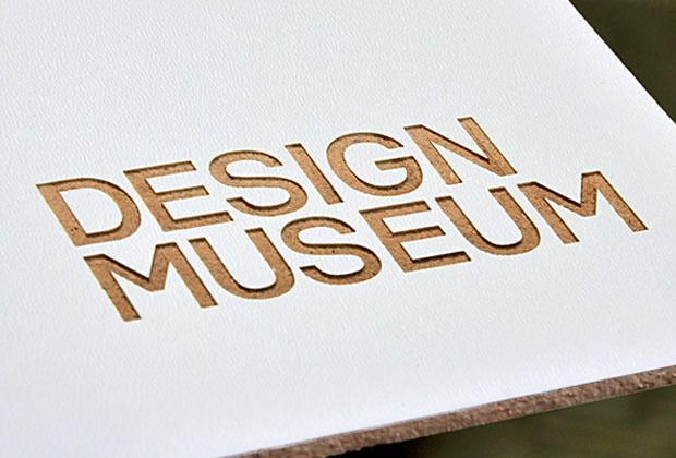 Laser cut reverse signage - Modern yet connected to past with wood