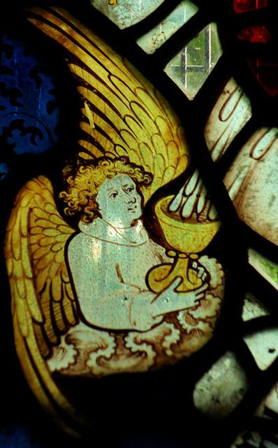 Thurcaston | All Saints' church. Detail from east window. A … | Flickr