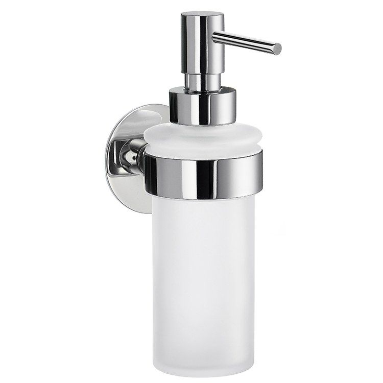 Time Wall Mount Soap Dispenser In 2020 Glass Soap Dispenser Soap Dispenser Glass Soap Pump