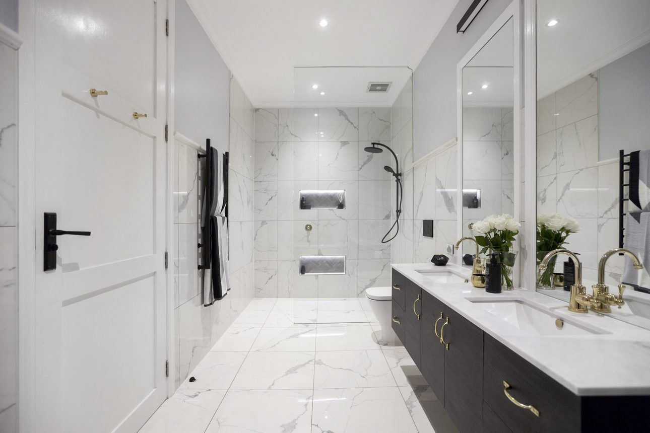 Best The Block 2016 Week 3 Main Bathroom Reveals House 400 x 300
