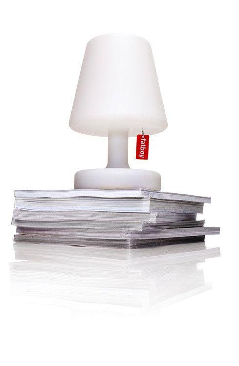 Lampe De Table Edison The Petit H 25 Cm Led Rechargeable Sur