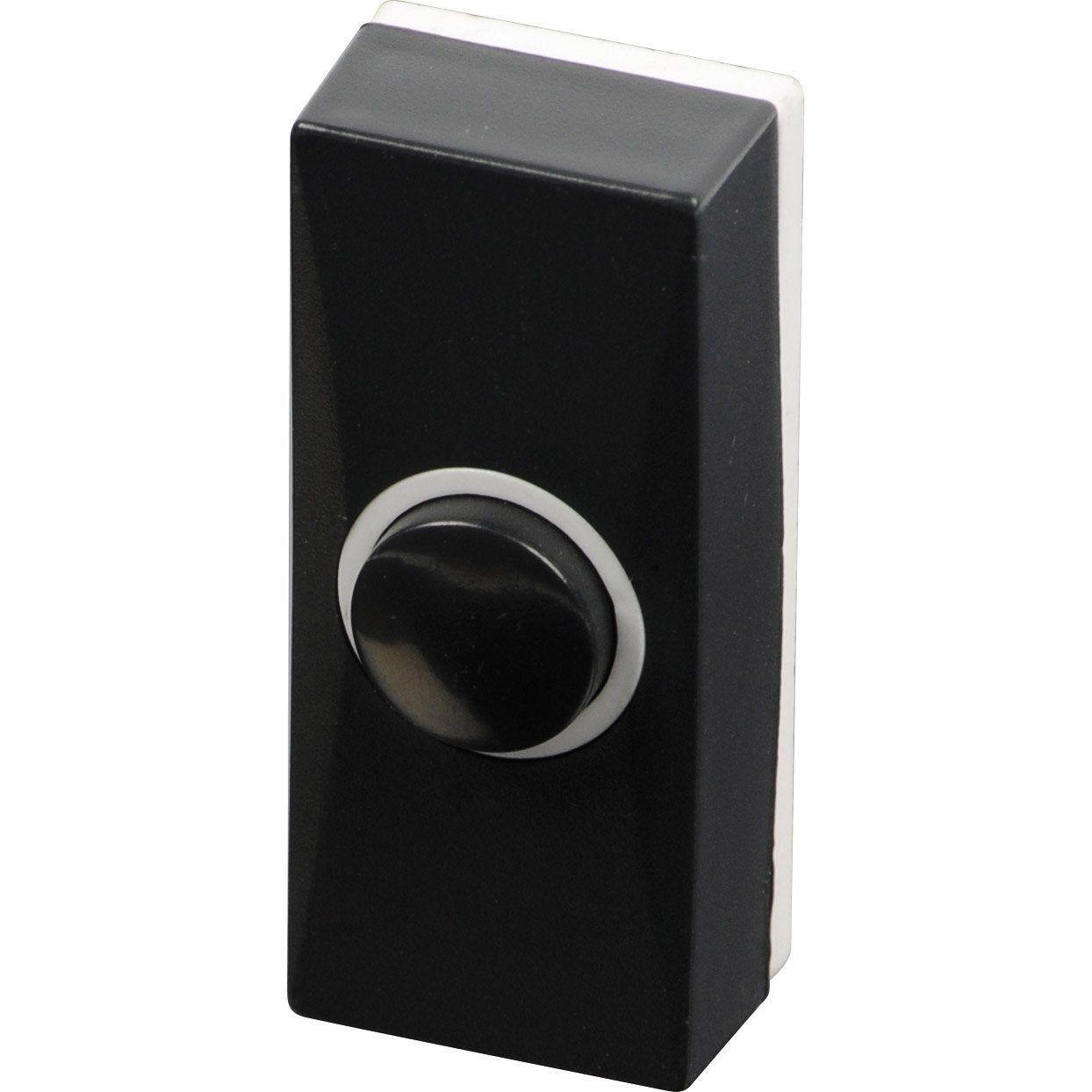 Bouton De Sonnette Filaire Noir Scs Sentinel Bouton De