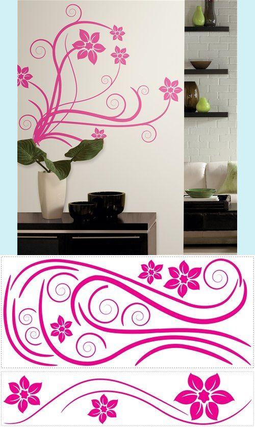 Superbe Deco Swirl Wall Sticker   Wall Sticker Outlet