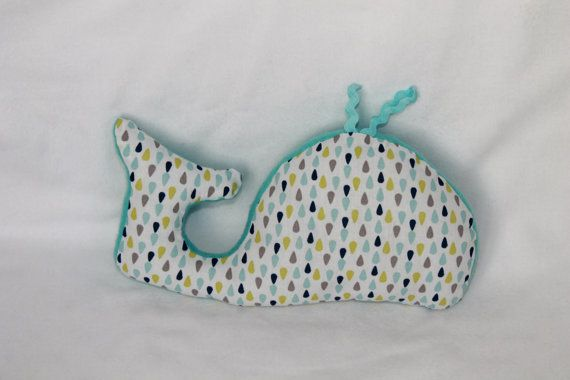 Baby Soft Toy - Whale Plush - Whale Stuffed Toy - Whale Toy - Baby Toy - Animal Stuffed Toy