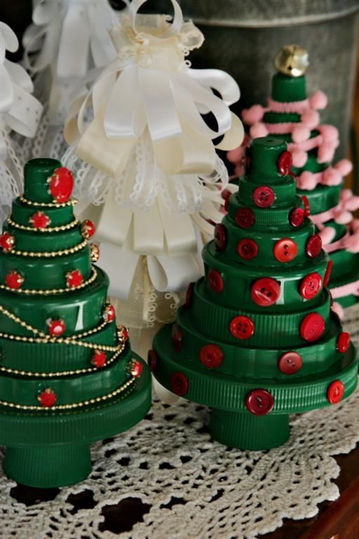 Starting To Decorate Handmade Christmas Gifts Bottle Cap Crafts Xmas Crafts