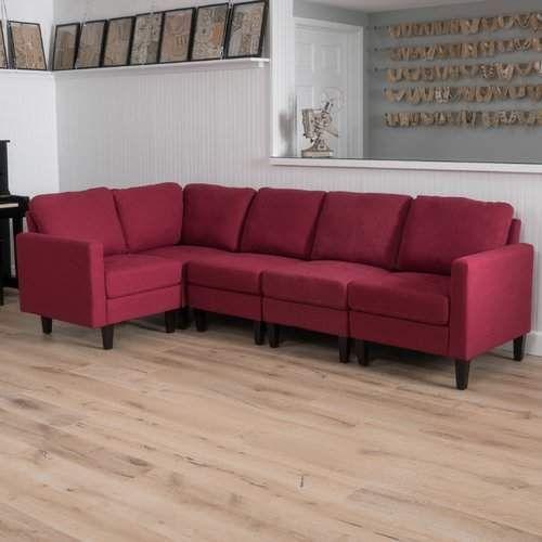 Outstanding Mercury Row Buffum Reversible Sectional Home Sectional Inzonedesignstudio Interior Chair Design Inzonedesignstudiocom