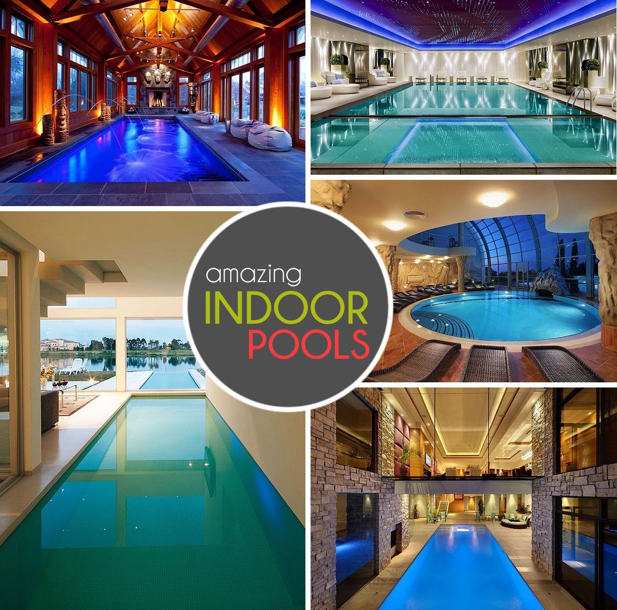 Indoor Pool Ideas 15 plunge worthy pools Indoor Pools Decoist