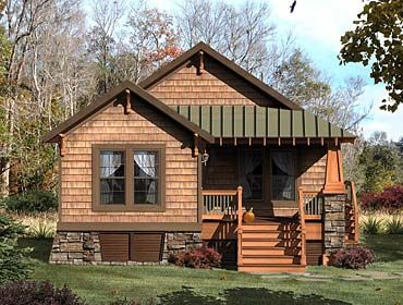 mountain cottage house plans